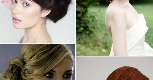 Bridal side buns hair hair pinterest mo os bajos - Monos bajos novia ...