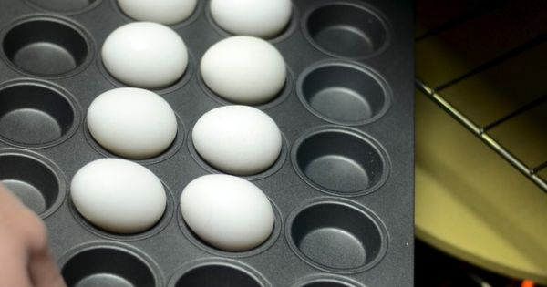 Hard Boiled Eggs in the OVEN!?! Great idea!!