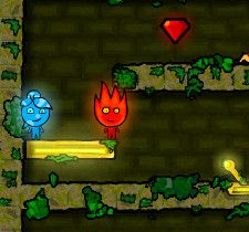 Fireboy And Watergirl 1 The Forest Temple Fireboy And Watergirl Art Cool Snakes