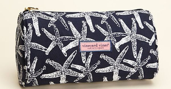 Starfish Silks Make up Bag - Vineyard Vines