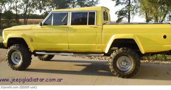 1974 4 Door Jeep Gladiator Pick Up Originally Posted By