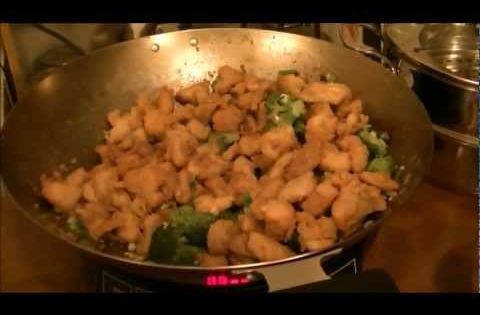 Chinese General Tso S Chicken Using My Wok And Nuwave