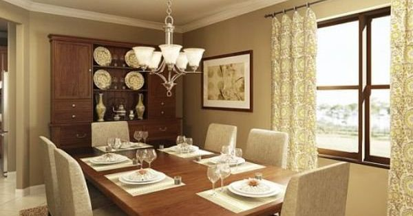 Dining Room Rendering Lennar Homes Riverstrand Estates