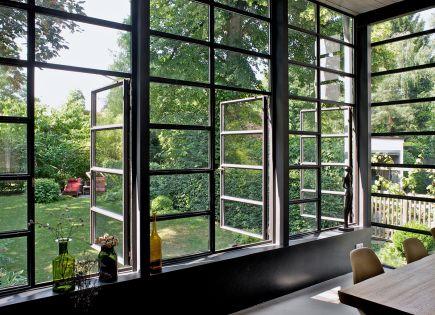 Innenliegende stahlkonstruktion und for Fenster 30er jahre
