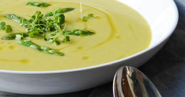 Creamy asparagus sunchoke soup | Recipe | Asparagus and Soups