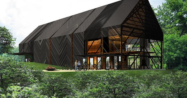 Unveiled> Wild Turkey Bourbon Visitors Center - The Architect's Newspaper