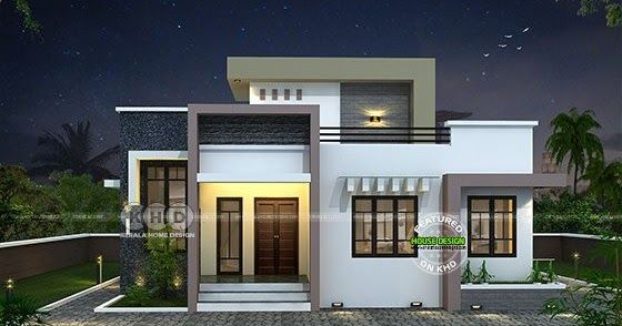 Stair Room 2 Bedroom House 1431 Square Feet Modern House Facades | Stair Room Front Design | 3Rd Floor | Residential | 100 Sq Meter House | Hall | Small Space