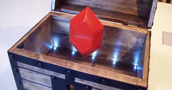 Legend Of Zelda Treasure Chest Lights Sound Amp Rupee