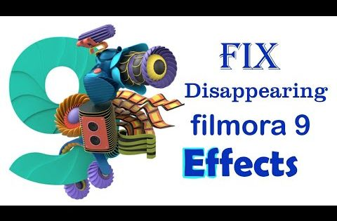 How To Fix Disappearing Effects Of Filmora9 Latest Version Filmora9 Effects Problem Amlesh2k Youtube In 2020 Fix It Youtube Technology