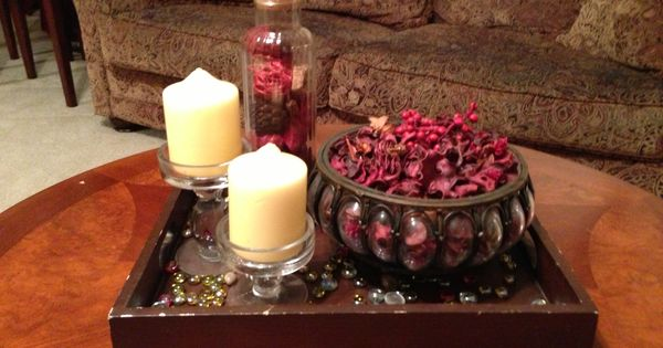 Coffee Table Decor Potpourri And Candle Holder Boom Easy Eccellgroup Office Pinterest