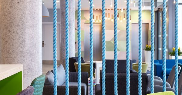Holiday Inn Express Aberdeen Fishing Boat Rope Screen Divider Polished Concrete Column F Decorative Room Dividers Diy Room Divider Divider Wall