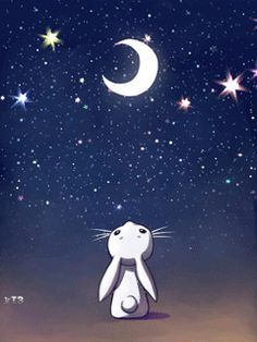 Beautiful Animated Moon Art Gifs At Best Animations Moon Art Beautiful Gif Animation