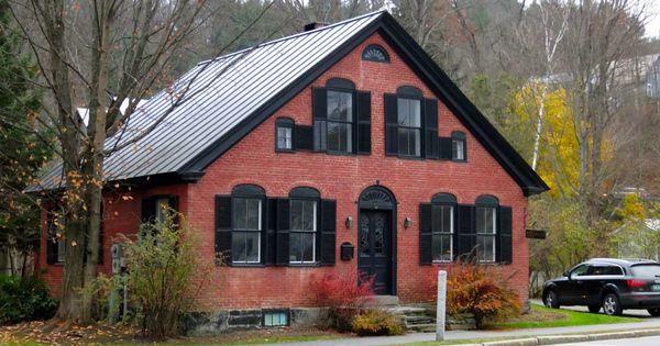 Black Trim Brick House Pinterest Black Trim