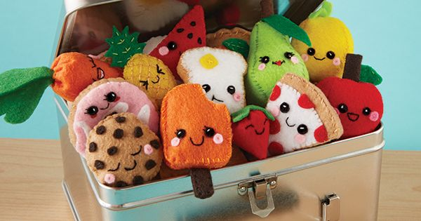 Felt Food Toys R Us : Make more than felt food plushies to stitch and stuff