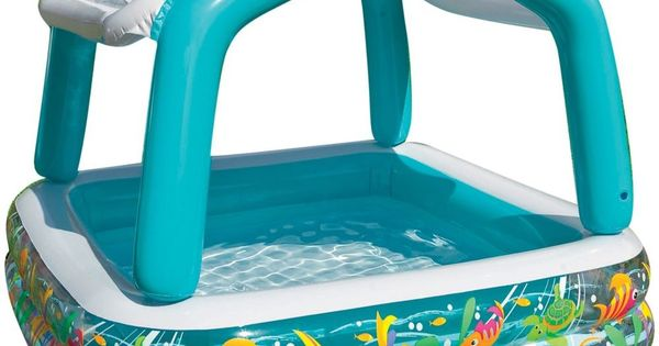 Intex Sun Shade Inflatable Kids Children Infant Swimming