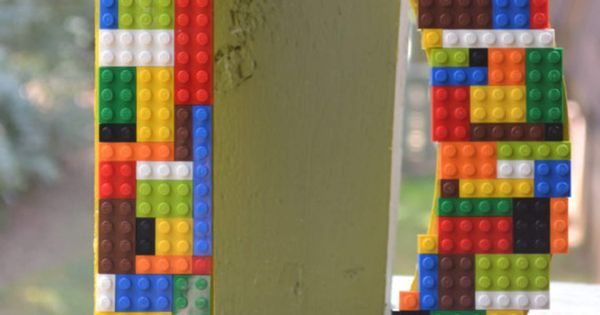 Legos Nursery Wooden Letters Home Decor Boys Room