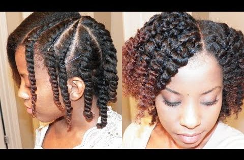 Flat Twist Out On Blown Out Natural Hair Hair Natural