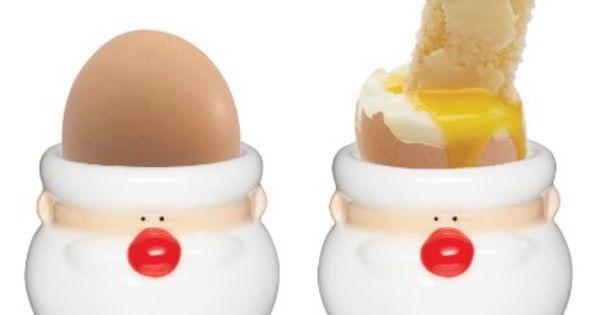 KitchenCraft Retro eggs egg cup