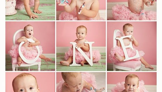baby girl first birthday ideas | ... be put together to create