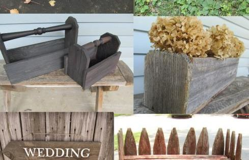 My Repurposed Life A Dozen Projects Using Reclaimed Fence