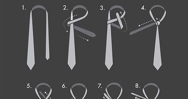 c mo hacer el nudo de la corbata bow ties pinterest. Black Bedroom Furniture Sets. Home Design Ideas