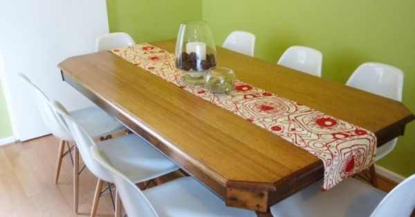 No Sew Table Runner With Images Make A Table Table Table Runners