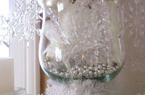 Sparkling Winter Mantel. Do you go from Christmas decor back to normal, or do you ...
