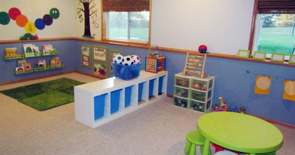 Kids' play room before and afters.