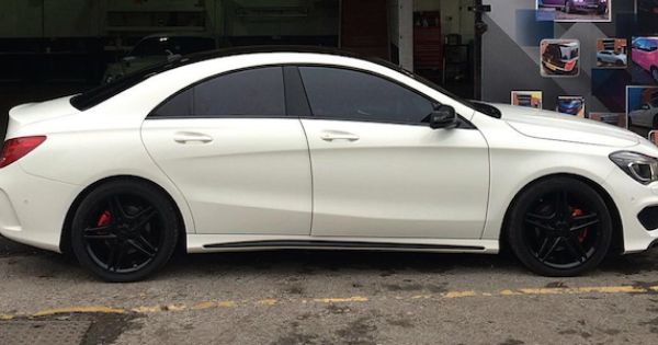 Mercedes Cla Amg Customised With Images Mercedes Benz Cla 250