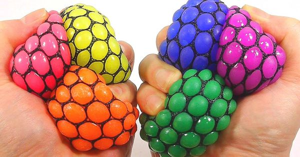 Diy Squishy Sand : DIY Change Colors Squishy Stress Ball How To Make  Slime Balloons Ball  ... Universumin ...