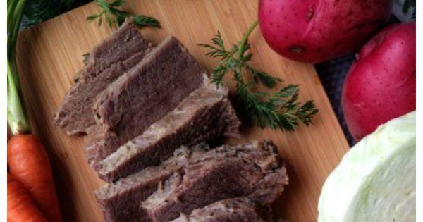 how to cook corned beef brisket in instant pot