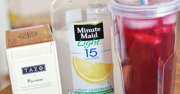 how to make a passion fruit iced tea lemonade