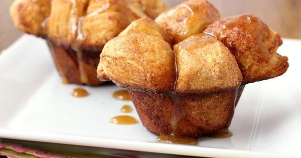Monkey Bread Muffins. Great when you dont want a stranger touching your