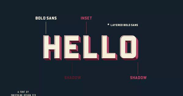 Bouchers Layered Duo By Swistblnk On Envato Elements Download Fonts Boucher Envato