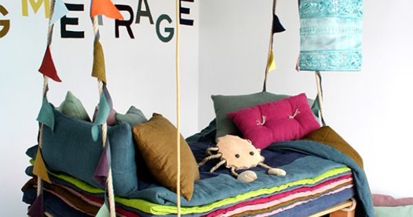 Kids Swing Pallet Bed- I want a pallet swing bed