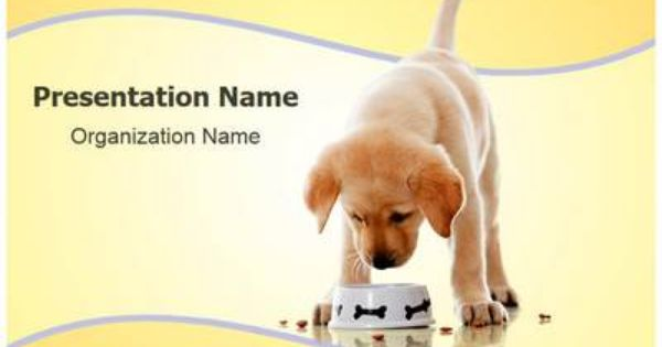 Dog Food Powerpoint Template Is One Of The Best Powerpoint