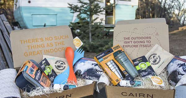 Cairn is your monthly box of outdoor discovery. Every month you'll receive