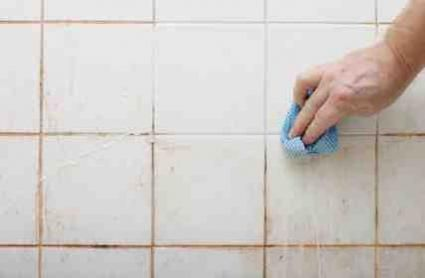 How To Get Rid Of Mold Clean Tile Grout Cleaning Bathroom Tiles Clean Tile