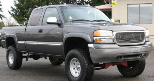 2002 Gmc Sierra 1500 Sle 4x4truck Just Bought It Recently And Its