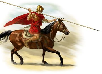 The lower tier of the Macedonian cavalry was composed of allied ...
