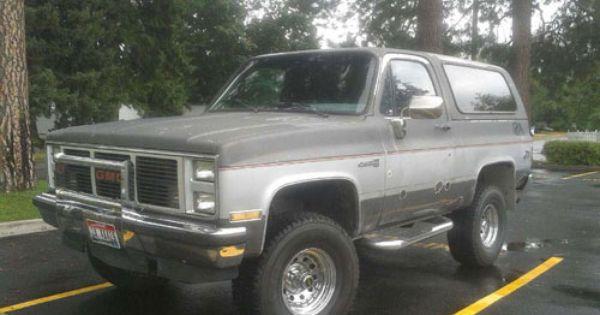 1988 Gmc Jimmy Coeur D Alene Id 5889653272 Oncedriven Classic Trucks Coeur D Alene Trucks