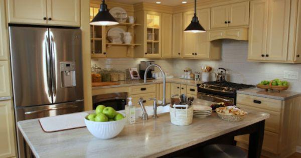 Pin By Erin Stroebel On Indoor Spaces Martha Stewart Kitchen
