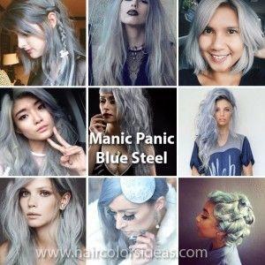 Manic Panic Blue Steel Hair Dye Manic Panic Hair Manic Panic