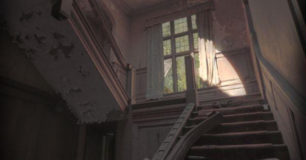 abandoned Manor House, UK