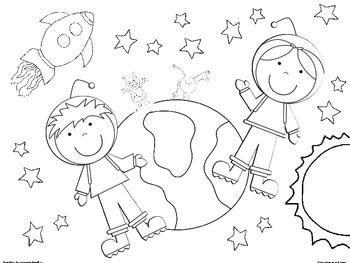 Add These Coloring Sheets To Your Space Unit Or Just Have Them On Hand To Fill Any Little Gaps In The Space Coloring Pages Space Coloring Sheet Coloring Pages