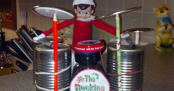 Elf Playing The Drums Shelved For Now Pinterest