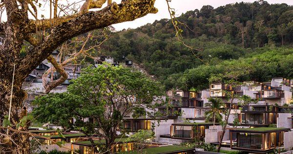 Tropical Boxes Phase II Of The Naka Phuket Phuket Hotels Tropical