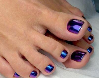 Dark Purple Toenail Polish Nail Summer Toe Nails Toe Nail Color Toe Nails