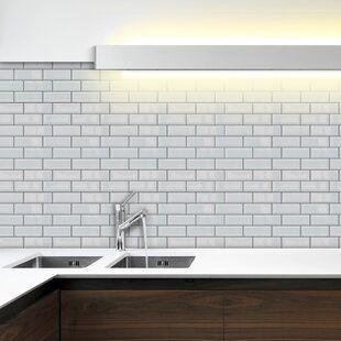 Self Adhesive Bathroom Tiles Wayfair Co Uk In 2020 Symple Stuff Diy Plumbing Traditional Tile