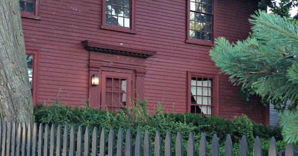Monochromatic Exterior House Paint Colonial House